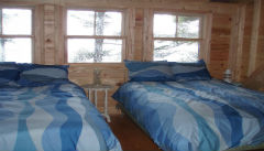 Bedroom View of Cottage