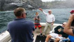 Fishing off Monhegan Island