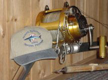 Rod, Reel and Shark Tag